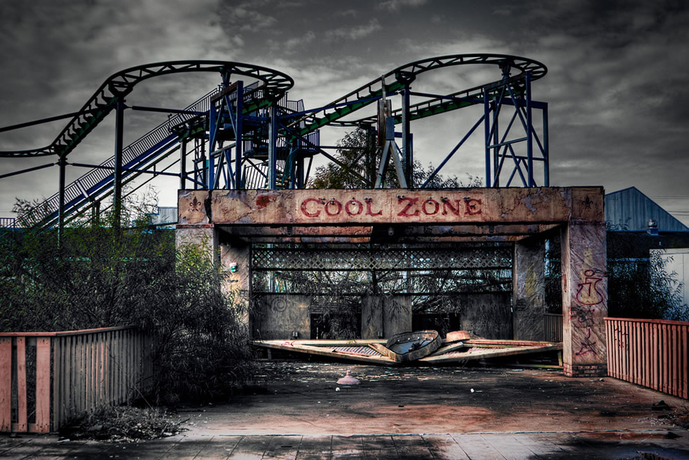 Abandoned-Six-Flags-New-Orleans