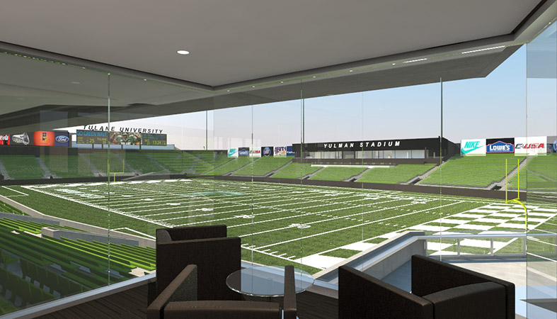 Yulman Stadium Club