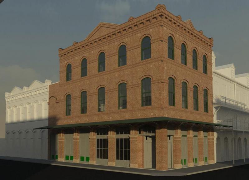 1101 Decatur Street Rendering
