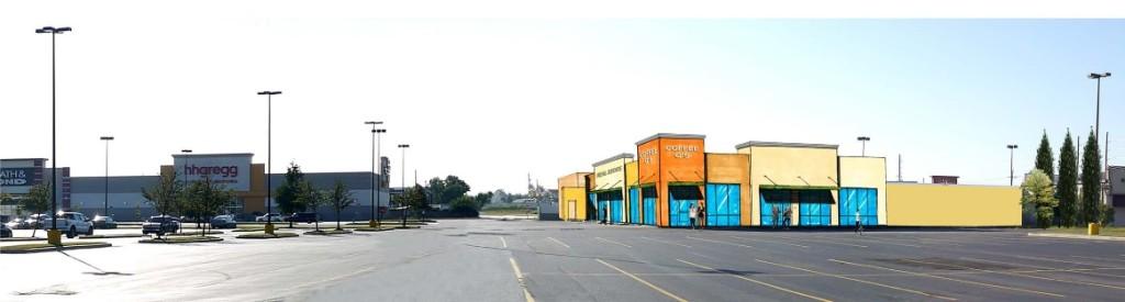 West Bank Village Shopping Center 1