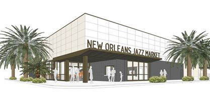 New Orleans Jazz Market Rendering 1