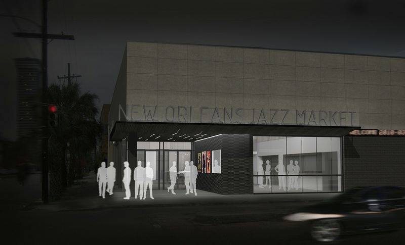 New Orleans Jazz Market Rendering 2