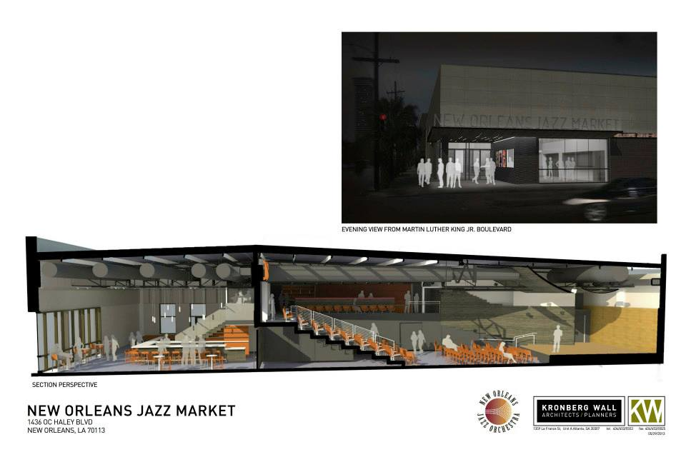 New Orleans Jazz Market Rendering 6