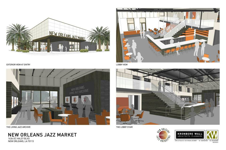 New Orleans Jazz Market Rendering 7