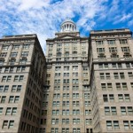 Photo of the Hiebrnia Building, one of HRI's developments, via HiberniaTower.com