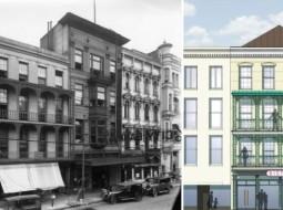 Images of the Gertler Building in 1925 via Josh Gertler