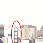 "Trahan's proposed 12 story ""sliver"" building at 309 Magazine Street"