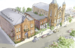 Rendering of the revitalized St. Peter & Paul Church Complex