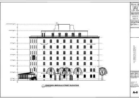 Rendering by John C. Williams Architects via Nola.gov
