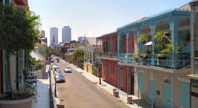 Canal Street Apartments New Orleans