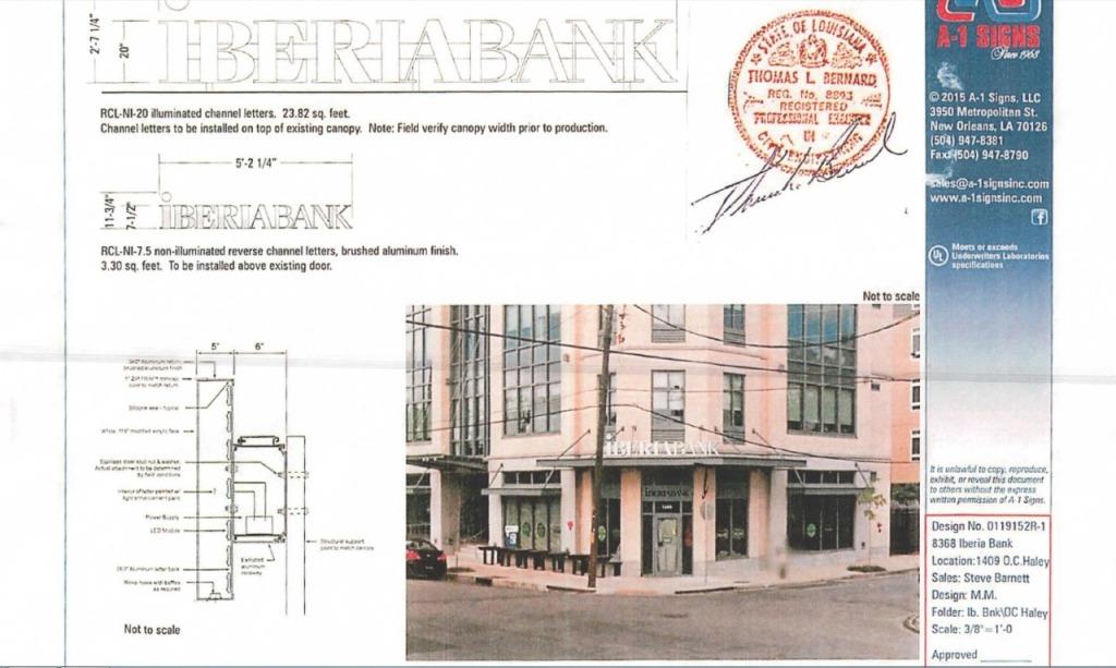 IberiaBank OC Haley Permit 2
