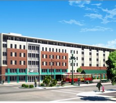 Rendering of the new HRI project at 317 N. Rampart