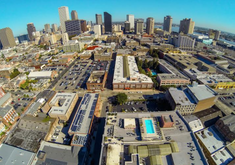 Photo via NOLA Aerial Drone's Facebook Page