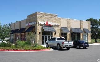 Verizon location in Texas.
