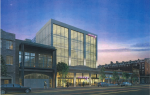 The proposed Moxy hotel at 744 St. Charles Ave. Rendering courtesy Campo Architects.