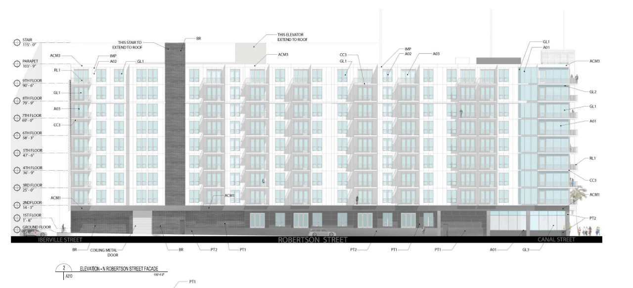 Rendering via City of New Orleans by Mathes Brierre Architects.