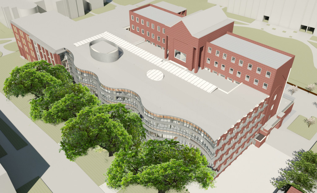 Rendering from Tulane.edu.