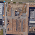 The site Oschner plans to build a new hospital on.  Image via Google maps.