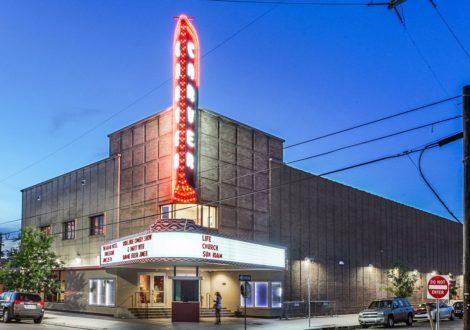 Photo of the Carver Theater via Latter & Blum