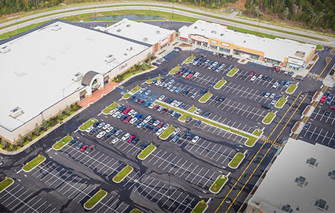 Aerial photo provided via Stirling Properties