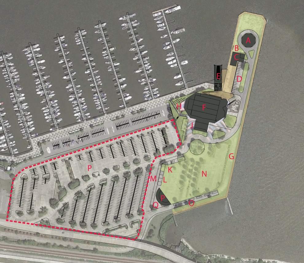 Rendering of Lakeshore Landing via Studio Network-Lakefront, LLC