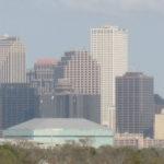New Orleans skyline via Wikipedia.