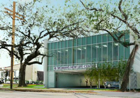 Rendering of the new building at 4612 South Claiborne Avenue by HMS Architects via City of New Orleans