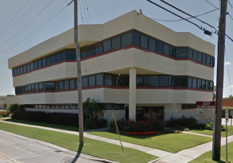 Image of Buchart Horn's new office at 527 West Esplanade in Kenner (via Google Maps).