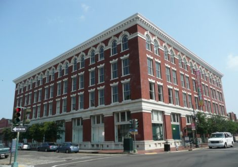 Photo of the Contemporary Arts Center at 900 Camp Street.