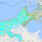 New FEMA Flood Maps in Orleans Parish via FEMA.