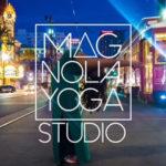 Logo of Magnolia Yoga Studio via Stirling Properties.