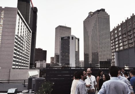 View from rooftop of May & Ellis via the May & Ellis project developers.